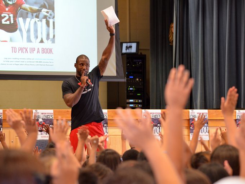 Patrick Peterson's Foundation For Success, patrick peterson, prolanthropy